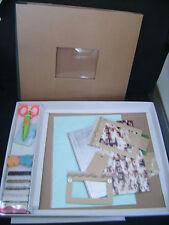 Kit de scrapbooking (album brun + accessoires) neuf emballé