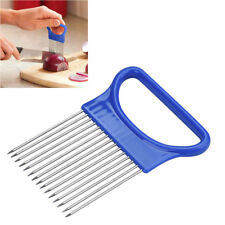 Gadget Tomato Cutter Cutting Guide Onion Holder Slicing Slicer Aid Vegetable