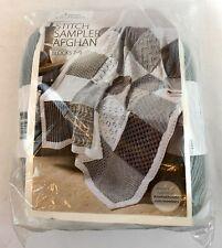 *New* Annie's Knit Afghan Stitch Sampler Kit Blocks 7-9