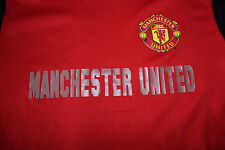 Manchester United Red Athletic Polyester Youth Shirt Size XL