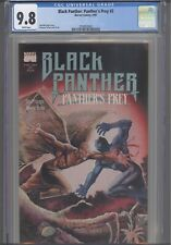 Black Panther: Panther's Prey #2 CGC 9.8 1991 Marvel D. Turner Cover : New Frame
