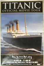 TITANIC RIESEN TOURPOSTER GIANT POSTER MOVIETOUR LONDON WEMBLEY - ca. 150x100cm
