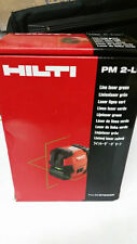NEW  Hilti laser level PM 2-LG -(green light)