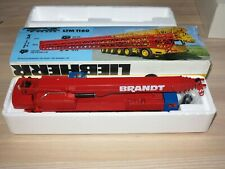 "Conrad 1:50 Liebherr Ltm 1160 Mobile Crane "" Brandt "" in New Boxed"