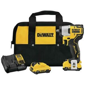 DeWALT DCF902F2 XTREME 12V MAX Brushless 3/8 Inch Cordless Impact Wrench Kit