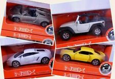 Welly Nex Pull-Back N Go Models Diecast Car Multiple Varieties Porsche Jeep More