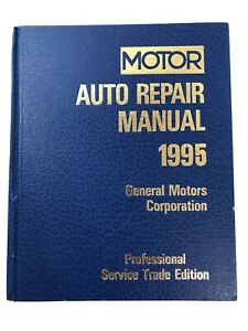 1992-1995 MOTOR Auto Engine Performance & Driveability Manual General Motors