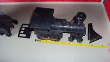 *VINTAGE 1950s ISSUED LATE 1800'S BUILT STEAM LOCOMOTIVE AND COAL CAR *