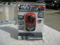 *RARE* COLLECTABLE - STAR WARS DARTH VADER WIRELESS MOUSE