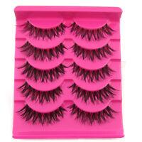Big sale! 5 Pair/Lot A20 Crisscross False Eyelashes Lashes MESSY SOFT eye lashes