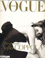 SOFIA COPPOLA French Paris Vogue Magazine 12/04 Dennis Hopper ED RUSCHA MILIUS