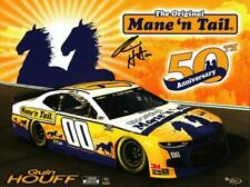 Autographed 2020 Quin Houff #00 Mane N Tail NASCAR Postcard