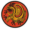 Patch écusson kung fu patche transfert Golden Dragon thermocollant medieval