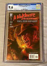 A Nightmare on Elm Street #1 CGC 9.6 D.C./Wildstorm White Pages Freddy Krueger👀