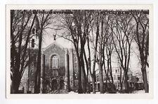 Église Ste-Anges LACHINE Montreal Québec Canada Carte Photo 1940s RPPC