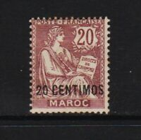 French Morocco - #17 mint, cat. $ 40.00