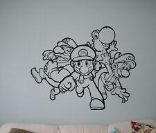 Video Game Super Mario Wall Vinyl Decal Vinyl Stickers Superhero Home Interior 1