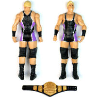 WWE Series 2 Jack Swagger & USA Champion Belt Wrestling Action Figure Toy Loose