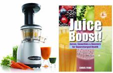 Omega Vrt350 Factory Certified Refurbished Vrt350X wtih Juice Boost! Book