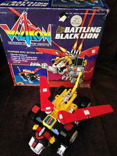 VOLTRON Battling Black Lion G1 1984 Motorized Action in Original Box