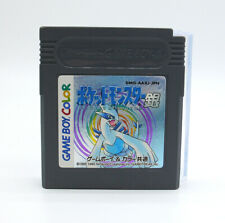 Game Boy Color Gameboy Pokemon Silver version Japanese cartridge GBC