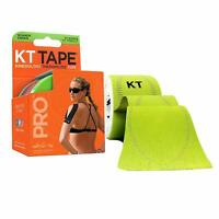 KT Tape PRO Kinesiology Therapeutic Tape Winner Green 20 Precut Strips