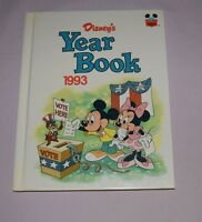 Book HC Disney World of Reading  - Yearbook 1993