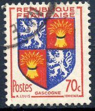 STAMP / TIMBRE FRANCE OBLITERE N° 958  BLASON GASCOGNE