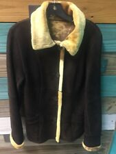 DOMINIC BELLISSIMO 100% SHEARLING REVERSIBLE JACKET Size M Size 6 Tall