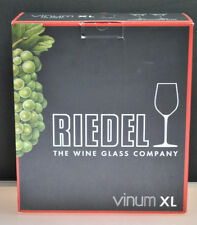 "BRAND NEW- RIEDEL ""VINUM XL"" CHAMPAGNE / WINE GLASS SET (2) GLASSES"