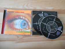 CD Punk Henry Rollins - Everything 2CD (10 Song) 2.13.61 REC / Hör Spoken Word