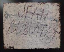 Art brut Les Dessins de Jean Dubuffet EO 1960 maquettes Maximilien Vox bel ex.