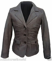 Ladies Womens Classic Smart Formal 100% Soft Real Leather