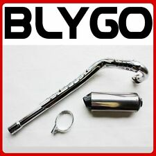 Exhaust Pipe & 38mm Muffler System 125cc 140cc 150cc Pit Pro Dirt Quad Bike Atv