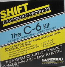 C6 Shift Correction Package Kit Superior KC-6 Ford Automatic Transmission