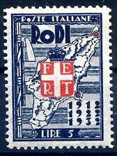 EGEO RODI 1932 - VENTENNALE  Lire 5   NUOVO  **