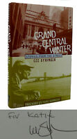 Lee Stringer & Kurt Vonnegut GRAND CENTRAL WINTER Signed 1st 1st Edition 4th Pri
