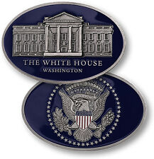 The White House - Oval Shaped Nickel Challenge Coin