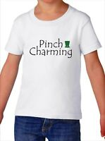 Toddler Pinch Charming Shirt Funny T-Shirt Lucky Tee For Boys St Patricks Day