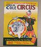 1947 JAMES M. COLE CIRCUS Souvenir Program Magazine Daily Review - 12 Pages