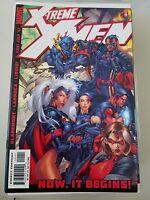 X-TREME X-MEN #1 (2001) MARVEL COMICS CHRIS CLAREMONT! SALVADORE LARROCA ART!