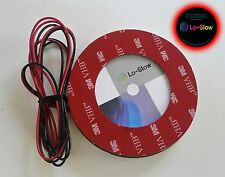 Red LED Lo-Glow light Assessory for your 82mm BMW Emblem Roundal Badge