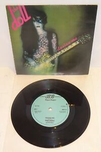 """THE DOLL DESIRE ME / TV ADDICT 1979 BEGGARS BANQUET 7"""" UK 1st PRESS. Card P/S"""