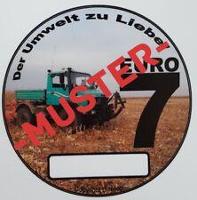 Euro7 Spaßaufkleber Unimog