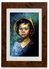 """""""Crying Boy (4)"""" Framed Print by Bragolin"""