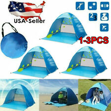 1-3X Pop Up Beach Tent Sun Shade Shelter Outdoor Camping Fishing Canopy Outdoor