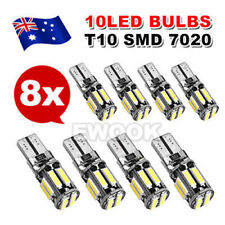 8X CANBUS T10 12V W5W 7020 COOL WHITE LED CAR TAIL SIDE LIGHTS TURN PARK BULB