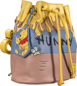 Disney Winnie The Pooh Honeypot Bucket Convertible Mini Backpack by Loungefly -