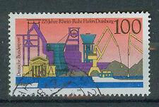 BRD Briefmarken 1991 Hafen Duisburg Mi.Nr.1558 gestempelt