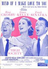 "HIGH SOCIETY ""Mind If I Make Love To You"" Grace Kelly Frank Sinatra Bing Crosby"